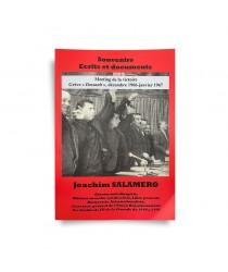 SOUVENIRS - ÉCRITS ET DOCUMENTS – Joachim Salamero